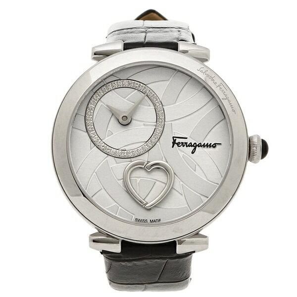 フェラガモ 腕時計 メンズ Salvatore Ferragamo FE2020016 シルバー ブラック