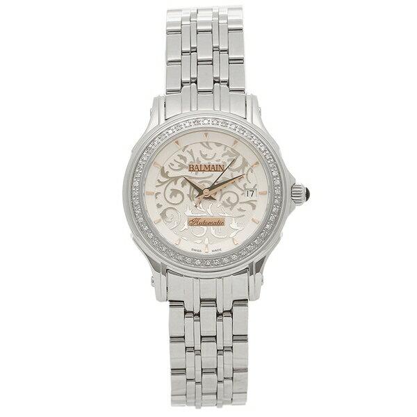 【4時間限定ポイント10倍】バルマン 腕時計 自動巻き レディース BALMAIN B1875.33.16 シルバー