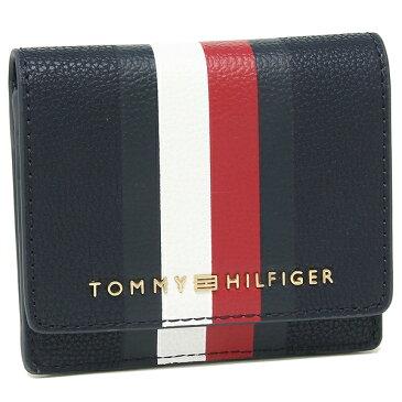 トミーヒルフィガー コインケース カードケース アウトレット レディース メンズ TOMMY HILFIGER W86945803 423 ネイビーマルチ