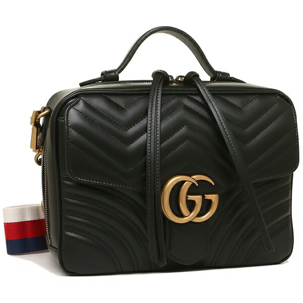 Gucci Handbag Shoulder Bag Lady S 498100 Dtdpt 8975 Black Beige