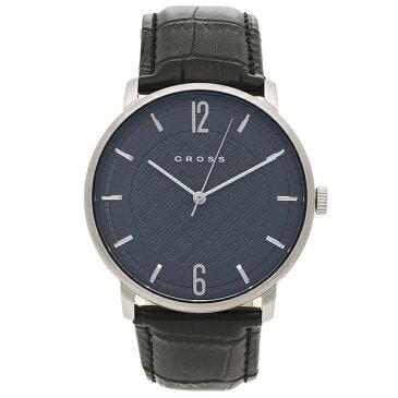 【4時間限定ポイント10倍】【返品OK】クロス 腕時計 メンズ CROSS CR8053-03 ブルー ブラック
