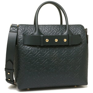 [Return] OK Burberry Tote Bag Shoulder Bag Ladies BURBERRY 8010953 A1497 Green