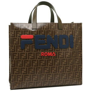 [Return] OK Fendi Tote Bag Ladies FENDI 8BH357 A5N6 F1562 Brown A4 Compatible