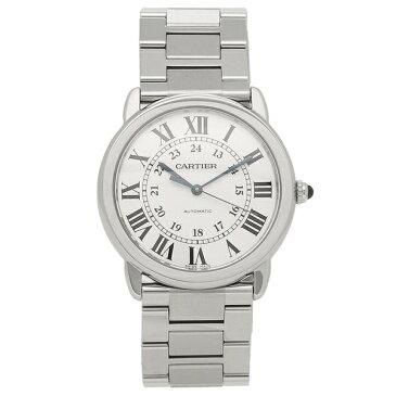 【4時間限定ポイント10倍】カルティエ 腕時計 メンズ ロンド ソロ ドゥ CARTIER WSRN0012 シルバー