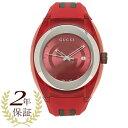 グッチ 腕時計 レディース メンズ GUCCI YA137103 レッド