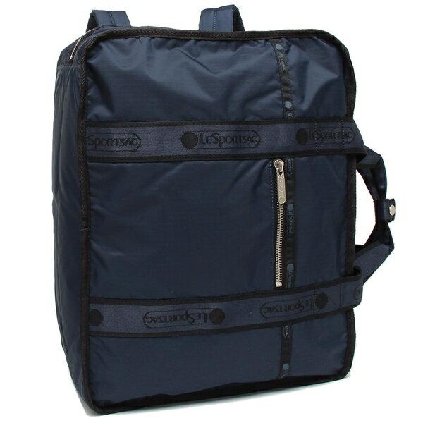 男女兼用バッグ, バックパック・リュック 410OK LESPORTSAC 4308 F322 HERITAGE NAVY A4