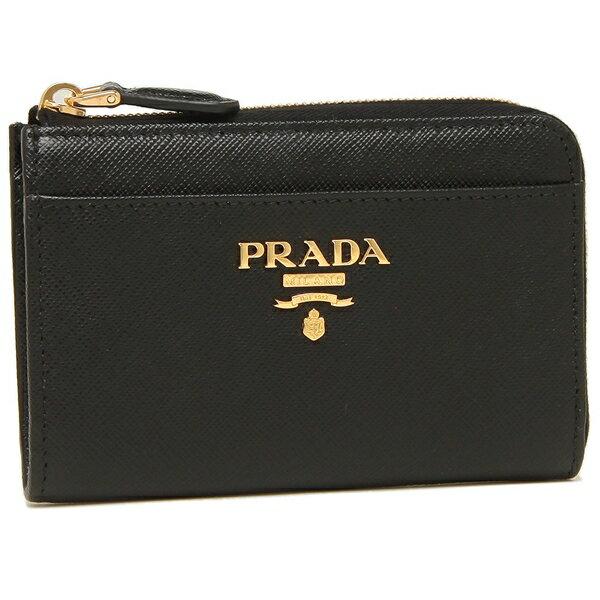 返品OK プラダ キーケース コインケース レディース PRADA 1PP122 QWA F0002 ブラックFJcul1TK3