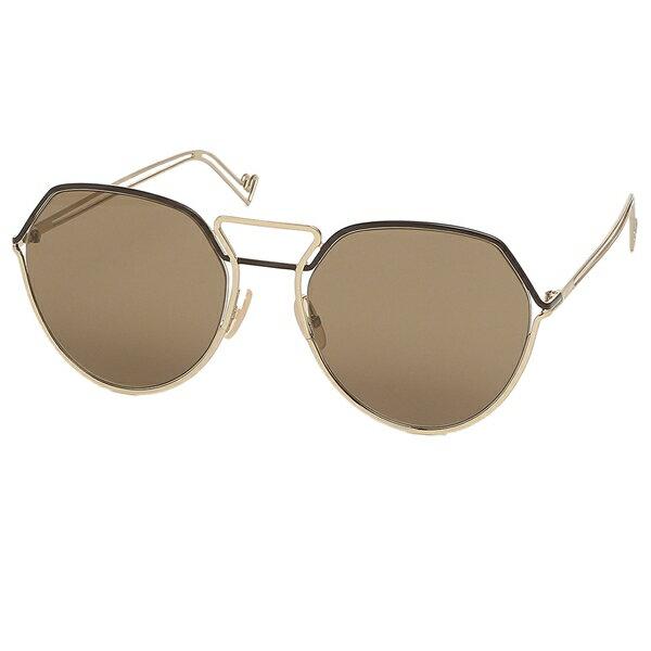 眼鏡・サングラス, サングラス P10 1021029 9OK 57 FENDI FF M0073S J5G 70