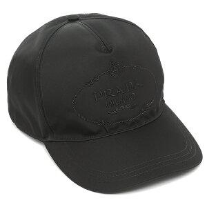 【返品OK】プラダ キャップ 帽子 テスート ブラック メンズ PRADA 2HC179 2B15 F0002 2021SS