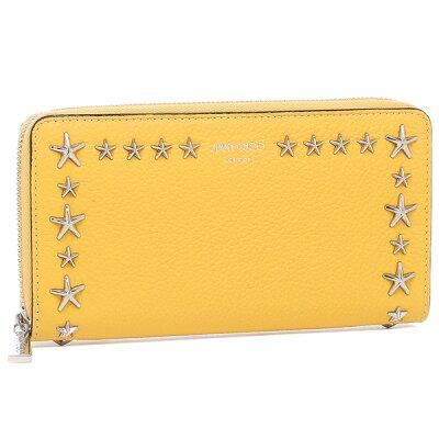 幸せと金運を呼び込む黄色い財布 JIMMY CHOO ピッパ