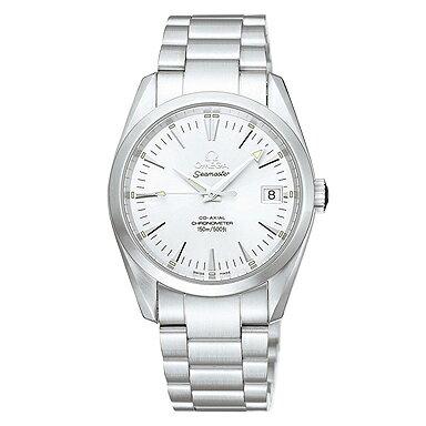 OMEGA オメガ シーマスター アクアテラ 2504.30 ユニセックスウォッチ 腕時計 シルバー シリアル有:ブランドショップ AXES