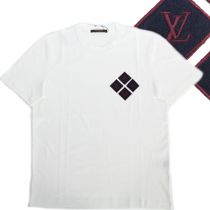 a57a6f0c2d5e CUORE  LOUIS VUITTON Louis Vuitton 2016 17AW short-sleeved T-shirt navy  chest emblem logo 1a10NX men collection marketable goods in the fall and  winter ...