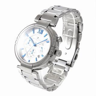 【エントリーポイント10倍】サルバトーレ・マーラ Salvatore Marra SM17106-SSWH  メンズ クロノグラフ 腕時計【r】【新品・未使用・正規品】