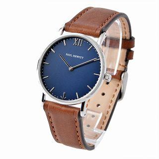 ポールヒューイット PAUL HEWITT PH-SA-S-Sm-B-1S セラーライン ユニセックス 腕時計 Sailor Line 36mm【r】【新品・未使用・正規品】