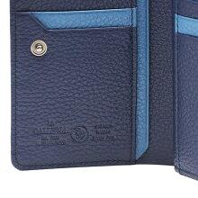 チェルヴォ:ラウンドファスナー縦型二つ折り財布[2284]