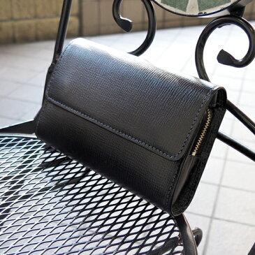 [青木鞄] バルボス:ベルト通し付き2wayセカンドバッグ[4301] 【送料無料】 Lugard BALBOS *日本製 牛革 エンボスレザー セカンドバッグ ウェストポーチ 鞄 メンズ ブラック* 【ラッキーシール対応】