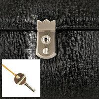 バルボス:B4サイズ専用キーロック付エンボスレザーダレスバッグ[4419]