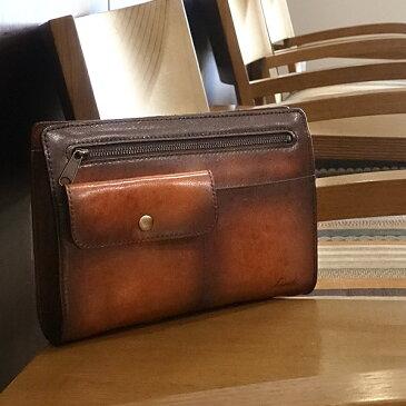 [青木鞄] G-3(ジースリー):セカンドバッグ[5214] 【送料無料】 Lugard G3 *日本製 牛革 セカンドバッグ クラッチバッグ 鞄 メンズ ブラウン ネイビー* 【ラッキーシール対応】