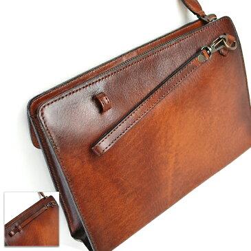 [青木鞄] G-3(ジースリー):鍵付 セカンドバッグ[5216] 【送料無料】 Lugard G3 *日本製 牛革 キーロック 施錠 セカンドバッグ クラッチバッグ 鞄 メンズ ブラウン* 【ラッキーシール対応】