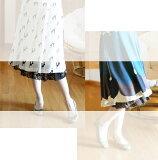 ☆選べるレディース服3点福袋対象商品☆いつものスカートがキュートに生まれ変わる!レースペチコート(返品・交換・ギフト包装不可)