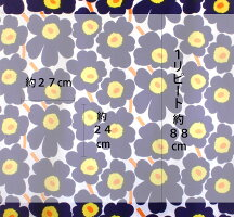 北欧カーテンマリメッコmarimekkoピエニウニッコダークブルーPIENIUNIKKO北欧ブランドカーテンオーダーカーテンかわいいおしゃれ花柄フラワーMAIJAISOLA青けしの花定番人気マイヤ・イソラ