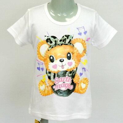 [2018春夏商品]EARTHMAGICゆったりシルエットマフィーTシャツ【合計10,800円(税込)以上お買い上げで送料無料】