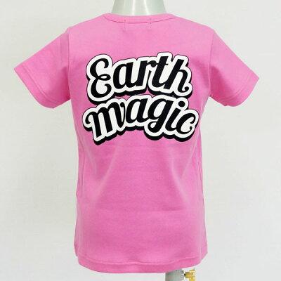 [2018春夏商品]EARTHMAGICゆったりシルエットパンクマフィーTシャツ【合計10,800円(税込)以上お買い上げで送料無料】