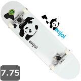 パンダ スケートボード コンプリート 専用工具付き エンジョイ Panda enjoi Complete 7.75 インチ Tレンチ付き 純正 スケボー 完成品 初心者
