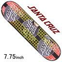 スケボー スケート デッキ スケートボード スクリーミングハンドSANTA CRUZ サンタクルーズ 板TRANSCEND DOTS VX 7.75inchTeam Model