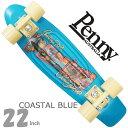 ペニースケートボード 22インチ ポストカード コースタルブルー Penny Skateboard Postcard Coastal Blue スケートボード スケボー ペニー コンプリート セット