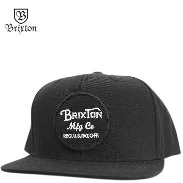 BRIXTON ブリクストン キャップ Wheeler Snap Back Cap ウィーラー 帽子