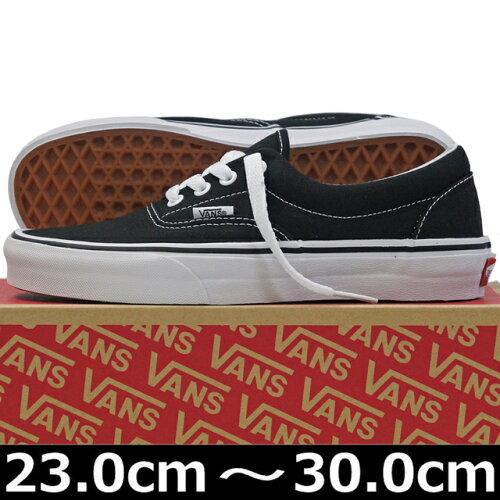 VANS ヴァンズ Classic ERA Black ( 23-30cm )【VANS ヴァンズ ばんず エラ キャンパス USA企画 ク...