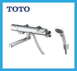 [TMGG40EW]TOTO 浴室水栓 サーモスタットシャワー金具(壁付きタイプ) スパウト長さ170mm シャワーヘッド:エアインクリック 02P09Jul16
