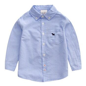 メール便送料無料長袖フォーマルシャツ男の子タキシードシャツ子供服ワイシャツ長袖ピンクブルーホワイトet031h