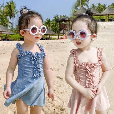 子供 水着 女の子 ワンピース ベビー 水着 スイムキャップ 子供用 水着 キッズ 水着 こども みずぎ 可愛い プール スクール水着 みずぎ 90 100 110 120 130