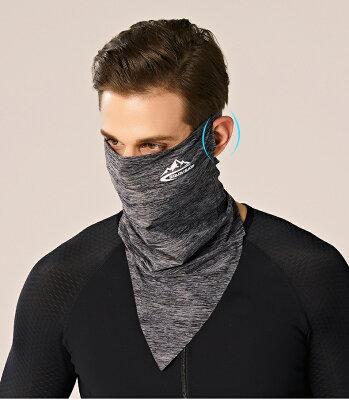 ランニング マスク 夏 フェイスカバー ネックカバー フェイスガード UV ネックガード ランニング マスク 涼しい メンズ レディース 日焼け防止 マスク UVカットマスク 日焼け防止 繰り返し 洗える 日よけ フェイスカバー おしゃれ 男女兼用 紫外線対策・・・ 画像2