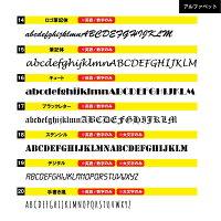 カッティング文字カッティングシートステッカー切り文字名入れオリジナル6cm〜10cm一文字210円