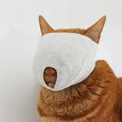 日本の職人作爪きり補助 猫 もふもふマスク