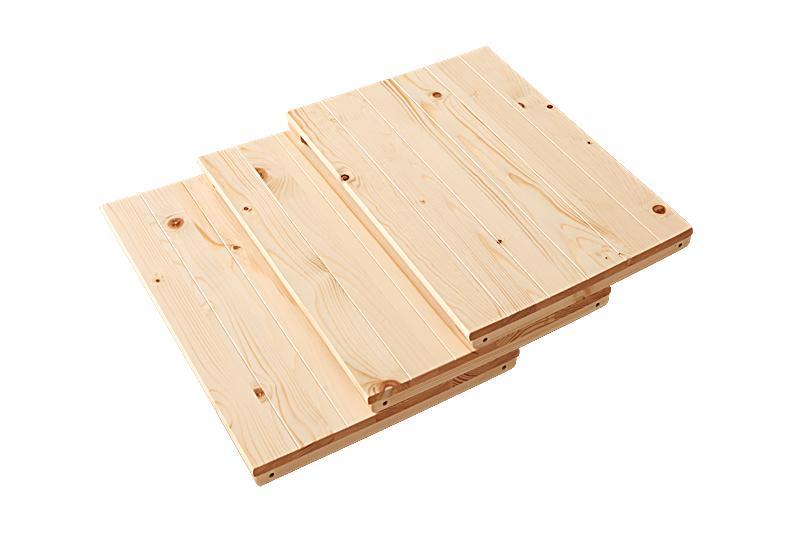 7b3f57d4ae ... LED 看板 | ポイント10倍 | 別売り | 連結棚3枚セット | Primaria | ブラウン  天然木シンプルデザインキッズ家具シリーズ | プリマリア 連結棚3枚セット
