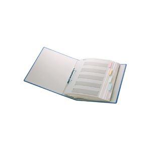 【ポイント10倍&送料無料】(まとめ)TANOSEEパイプ式ファイル片開きA4タテ100mmとじグレー30冊