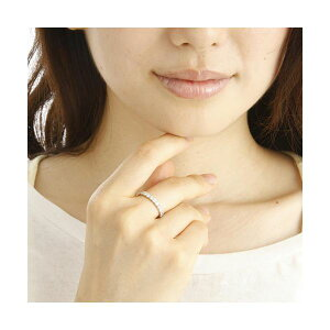 【ポイント10倍&送料無料】PT900ダイヤモンド1ctエタニティリング20号