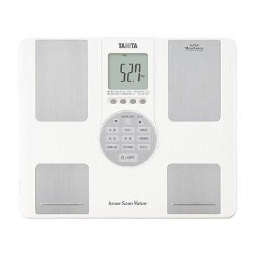 【ポイント10倍】タニタ 体重計 インナースキャンVoice BC-202-WH