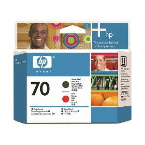 【ポイント10倍】(まとめ)HP70プリントヘッドマットブラック/レッドC9409A1個【×3セット】