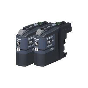 【ポイント10倍】(業務用20セット)ブラザー工業インクカートリッジLC111BK-2PKブラック【×20セット】