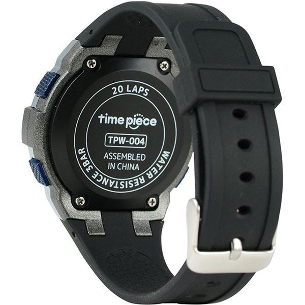 【ポイント10倍】Time Piece(タイムピース) 腕時計 ランニングウォッチ 20LAP デジタル ブルー TPW-004BL