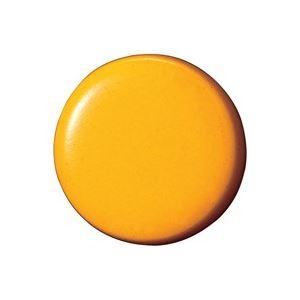 【ポイント10倍】(業務用100セット)ジョインテックス両面強力カラーマグネット18mm橙B270J-O10個【×100セット】