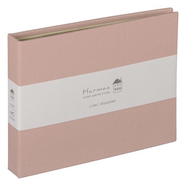 【ポイント10倍】(業務用5セット) ハルマー ポケットアルバム A-HRLP-101-P ピンク