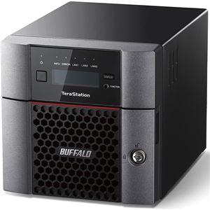 【ポイント10倍】バッファロー TeraStation TS5210DFシリーズ 10GbE標準搭載 2ドライブSSD搭載NAS512GB TS5210DF00502