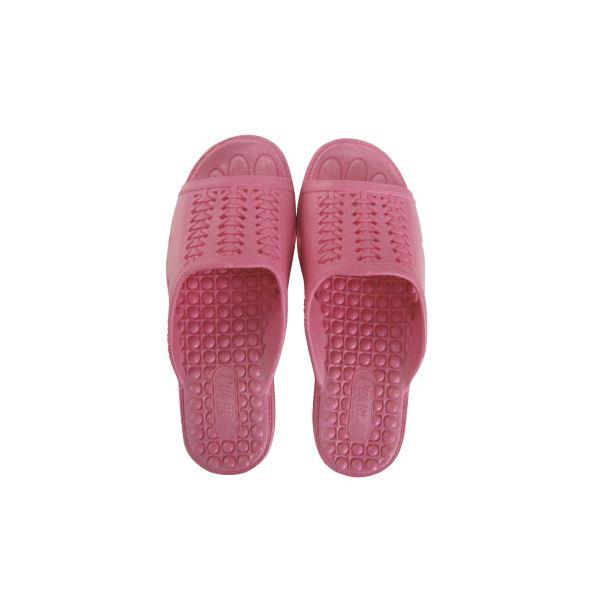 【ポイント10倍】(まとめ)ニッポンスリッパ 成型サンダル 婦人用 L ピンク【×30セット】