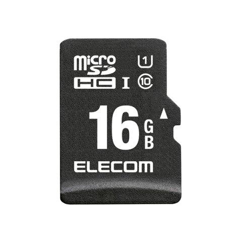 【ポイント10倍】エレコム microSDHCカード/車載用/MLC/UHS-I/16GB MF-CAMR016GU11A